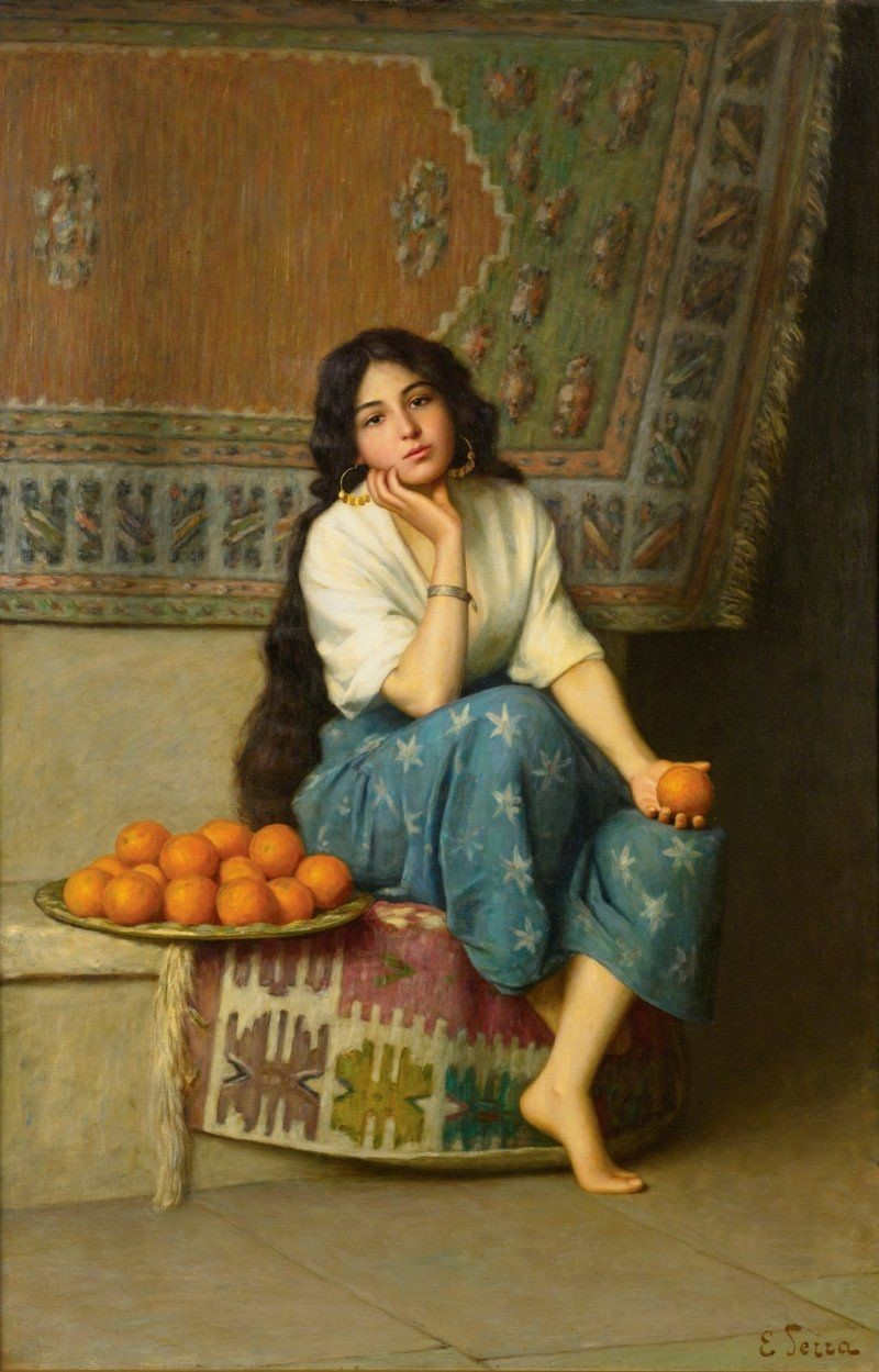 orange seller Original