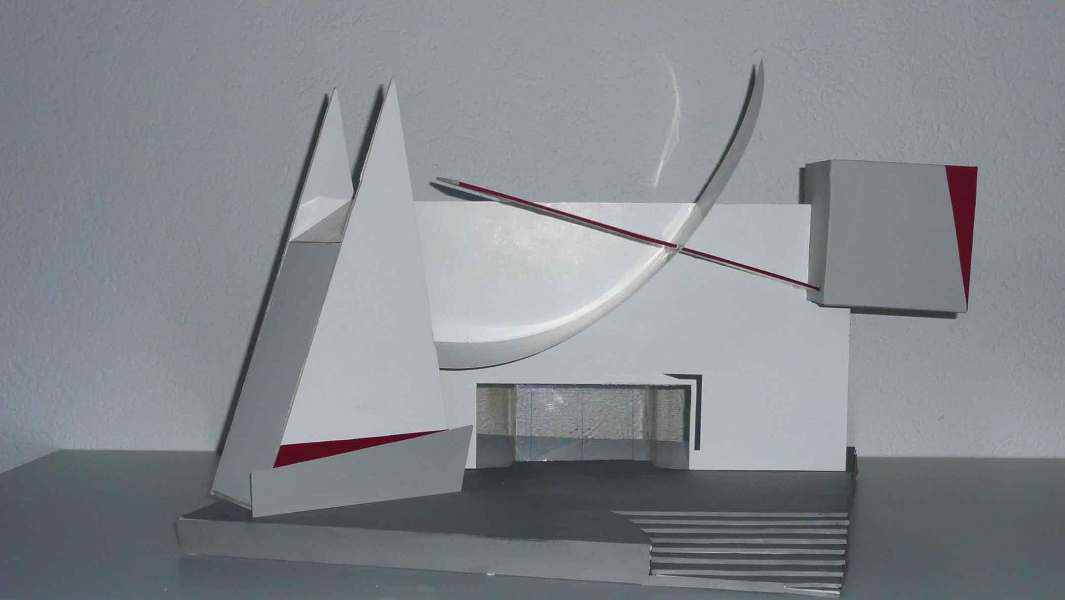 Moderner eingangsbereich innen  13/14 J2 Eingangsbereich Museum für Moderne Kunst